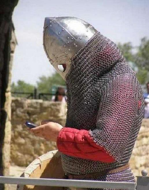 texting knight