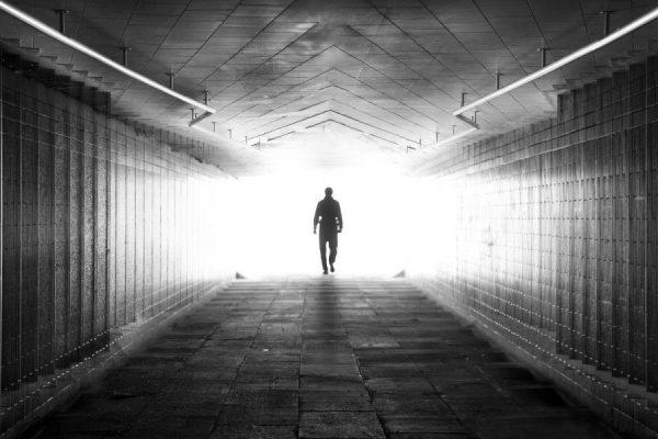 walking away alone